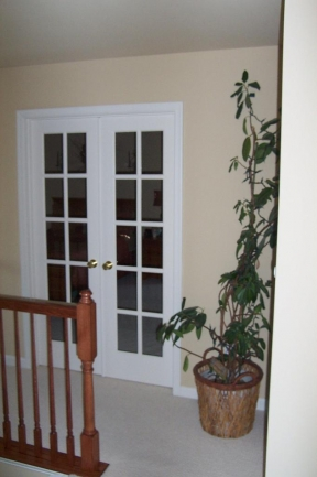 Doorway to Master Bedroom